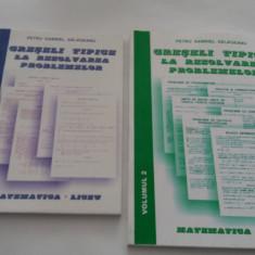 GRESELI TIPICE LA REZOLVAREA PROBLEMELOR -MATEMATICA DE LICEU SALAGEANU GABRIEL