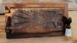 Ușa mica fontă sobă teracotă