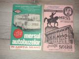 AUTOBUZ- MASINA- LOT 2 MERSUL AUTOBUZELOR 1981- 1982 Jud. SUCEAVA SI NEAMT