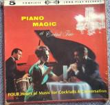 Cumpara ieftin Set format din 4 albume vinil Piano Magic for cocktails & conversation