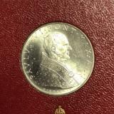 VATICAN SET LIRE 1963 contine 500 lire argint