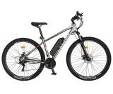 Bicicleta Electrica MTB Carpat C1002E, 21 Viteze, Roti 29inch, Cadru Aluminiu, Frane Mecanice Disc, Autonomie 60-80 Km, Viteza 25 km/h, Motor 250W (Gr