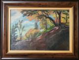Tablou, Karl Hübner, Peisaj de toamnă , u/p/c, 1931