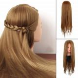 Cap practica par blond frizerie pupeta coafor rezistent la placa 50%