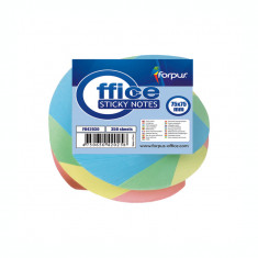 Notite culori pastel Forpus twisted 42030 350 file 7.5x7.5 cm