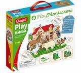 Cumpara ieftin Joc Play Habitat Montessori, Quercetti
