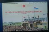 GUERNSEY 1989 – AEROPORTUL, carnet filatelic, SD128
