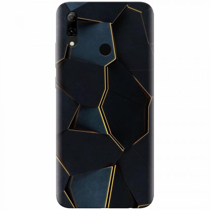 Husa silicon pentru Huawei P Smart 2019, Abstract Draw