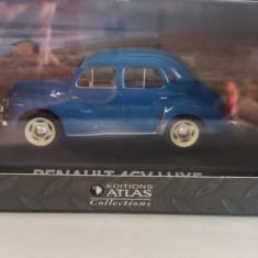 macheta renault 4cv luxe 1950 - atlas, scara 1/43, noua.