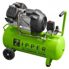 Compresor aer ZI-COM50-2V5E 50 Litri
