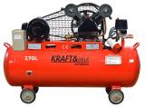 Cumpara ieftin Compresor de aer industrial 270L 820l/min 2 cilindri 5.5 kW 380V KD409 KraftDele