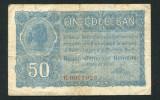 Ocupatia germana in Romania 50 bani 1917