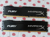 Kit Memorie Ram HyperX Fury 16 GB (2 X 8 GB) 1866Mhz., DDR 3, Dual channel, Kingston