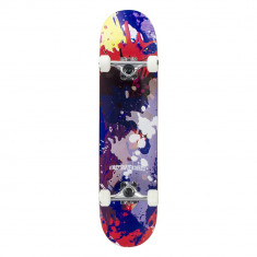 Skateboard Enuff Splat Red/Blue 31.5x7,75""