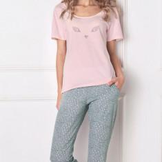 Pijama dama Wild look, lunga, Aruelle