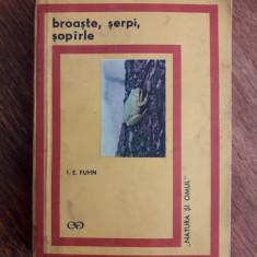 Broaste, serpi, soparle - I. E. Fuhn / C22P