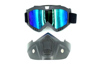 Masca cu ochelari Moto ATV Schi Snowboard foto