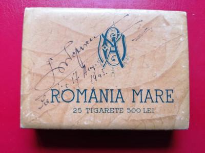 Cutie tigari tigarete Romania Mare foto