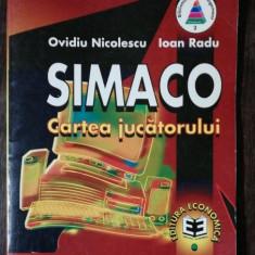 SIMACO - CARTEA JUCATORULUI - OVIDIU NICOLESCU/ IOAN RADU