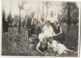 Fotografie sași Transilvania 1929 perioada interbelica