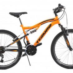 Bicicleta Copii Dhs Teranna 2445 Portocaliu Deschis 24