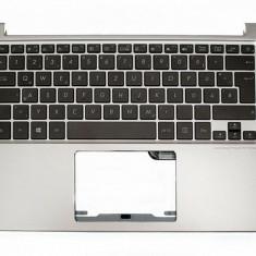 Carcasa superioara cu tastatura Laptop Asus ZenBook UX303 iluminata layout spaniola