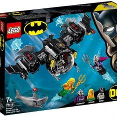 LEGO DC Super Heroes - Batsubmarinul Batman si conflictul subacvatic 76116