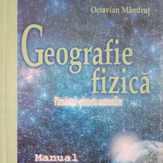 GEOGRAFIE FIZICA MANUAL PENTRU CLASA A IX-A - Mandrut