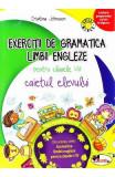 Exercitii de gramatica limbii engleze pentru clasele 1-4 caiet - Cristina Johnson