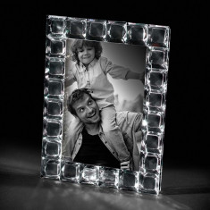 Rama foto cristal QUADRETTI 13 X 18 LUX by Chinelli made in Italy
