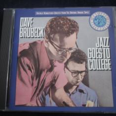 Dave Brubeck - Jazz Goes To College _ cd,album _ CBS ( 1989 , Olanda )