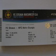 Steaua-Astra Giurgiu (11 septembrie 2016)
