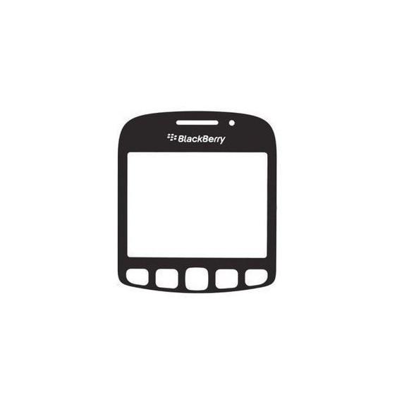 Geam blackberry 9220 curve negru original