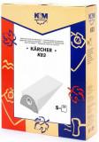 Sac aspirator KARCHER 2101, hartie, 5X saci, KM, K&m