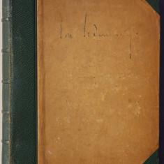 Caiet de poezii si fotografie originala Ion Scaenariu