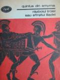 Cumpara ieftin Razboiul Troiei sau sfarsitul Iliadei - Quintus din Smyrna