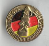Insigna Industrie Minerit - Ziua Minerului - Germania 1959