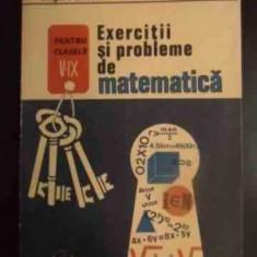 EXERCITII SI PROBLEME DE MATEMATICA de GRIGORE GHEBA , LUCRETIA GHEBA , CARMINA GHEBA 1991