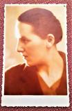 Profil de femeie. Fotografie datata 1938 - Atelier Foto Daniel, R.-Sarat