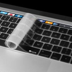 Folie protectie tastatura pentru Macbook Pro 13.3 15.4 Touch Bar versiunea europeana
