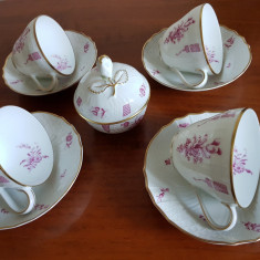 SET CEAI / CAFEA,  HUTSCHENREUTHER  GERMANY  / 9 PIESE