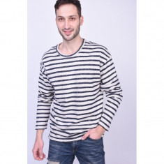 Pulover Jack&Jones Jorrised Knit Crew Neck Silver Birch