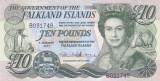 Bancnota Insulele Falkland 10 Pounds 2011 - P18 UNC