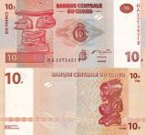 CONGO 10 francs 2003 UNC!!!