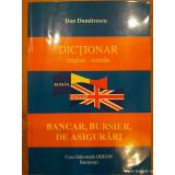 Dictionar englez-roman bancar, bursier de asigurari