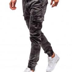 Pantaloni joggers cargo bărbat grafit Bolf 5398