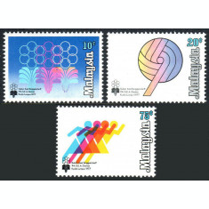 Malaysia 1977 - Sport, serie neuzata