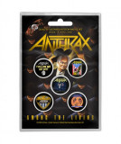Set Insigne Anthrax: Among the Living