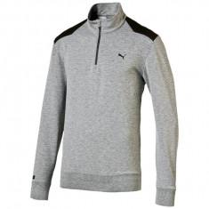 Bluza barbati Puma, gri melange/negru, marimea XL