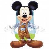 Cumpara ieftin Balon folie figurina Mickey Mouse Lederhosen - 95cm, Amscan 27389